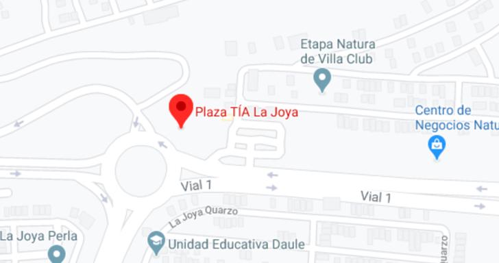 Ubicación Plaza Tia La Joya